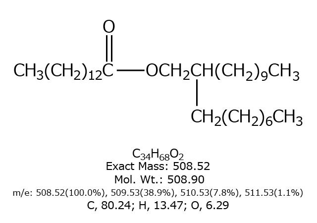 ミリスチン酸オクチルドデシル